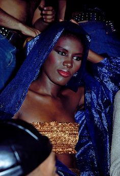Grace Jones at Studio 54, New York NY | Wayne Eastep, 1979