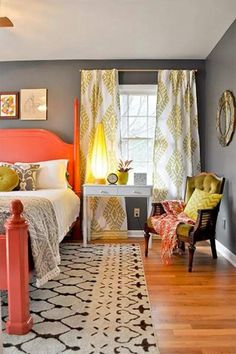 Best 26 Colorful Modern Bedrooms Decorating Ideas  https://decorisme.co/2017/10/30/26-colorful-modern-bedrooms-decorating-ideas/ Bedrooms should be feel cozy and inviting, and provide you an idea of peace and quiet. It is among the most stylish approaches to color a bedroom, so utilize it well. If you get a little bedroom, you can make it look a bit larger than it really is by deciding on the most suitable colours.