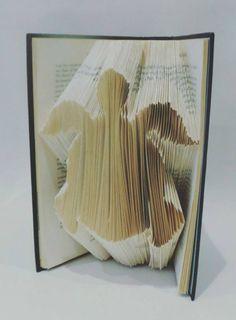 Turtle - Tortoise - Folded Book Art - Home Decor - Book Lover - Gift - Handmade - Sea - Creature - Animal - Barrier Reef #ad #Etsy #turtle