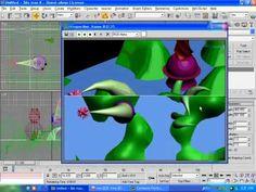 3D맥스 6 초급   16강   간단한 모델에 기본재질넣기