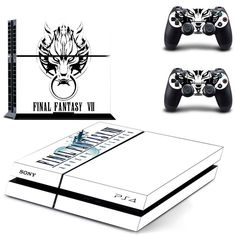 Final Fantasy VII 7 ps4 Vinyl Skin Sticker Cover For PS4 Playstation 4 Console + Controller Decal