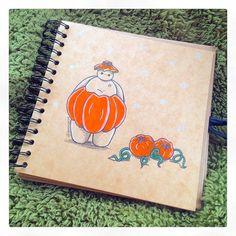 Pumpkin Baymax by DeeeSkye