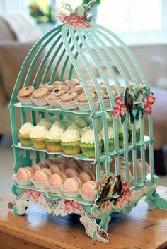 Candy Table, Candy Buffet, Decoration Buffet, Butterfly Garden Party, Candy Cart, Cupcake Display, Dessert Buffet, Macaron, Tea Party