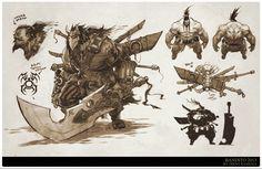 Bandito Swordsman Concept Art, Trent Kaniuga on ArtStation at http://www.artstation.com/artwork/bandito-swordsman-concept-art