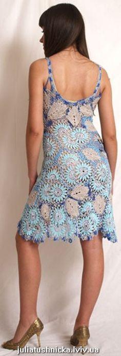 Платья крючком : ファッション1 - NAVER まとめ
