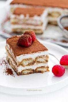 Tiramisu Recipe, Tiramisu Cake, Italian Pastries, Italian Desserts, Sweet Recipes, Cake Recipes, Dessert Recipes, Food Cakes, Cupcake Cakes