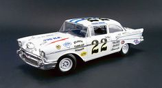 Your Source for Greenlight Collectibles, Diecast Promotions, Licensed Diecast & More! 1957 Chevy Bel Air, Chevrolet Bel Air, Riverside Raceway, Atlanta, Grand National, Slot, Racing Motorcycles, Vintage Race Car, Rubber Tires