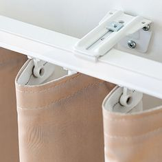 Ripple Fold Drapery | Wall Mount