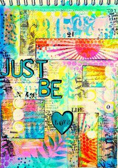 Art board: http://pinterest.com/bapger/art-mixed-media/ *** Good example of layer, love it...