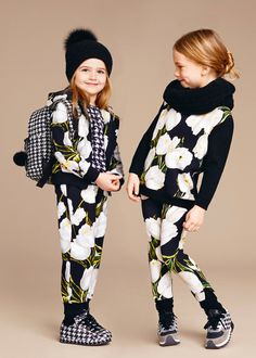 Dolce & Gabbana Kids Floral outfit