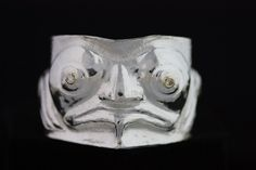 Repose Frog bracelet by Gordon Dick. Sterling silver with diamonds in the eyes.