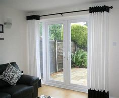 French Door Curtain Ideas