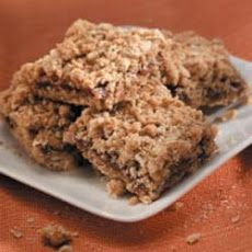 Oatmeal Date Bars Recipe Desserts with dates, water, sugar, quick-cooking oats, all-purpose flour, brown sugar, baking soda, salt, melted butter, egg whites