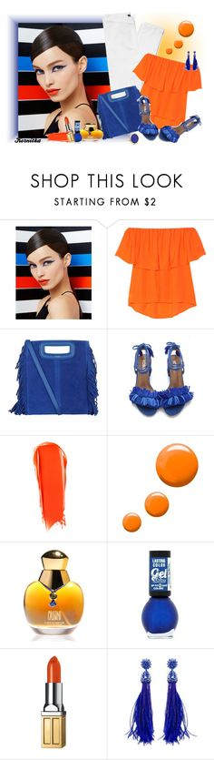 """nr 265 / summer fashion"" by kornitka ❤ liked on Polyvore featuring Smashbox, Rebecca Minkoff, Maje, NARS Cosmetics, Topshop, Oleg Cassini, Elizabeth Arden, Oscar de la Renta and Ginette NY"