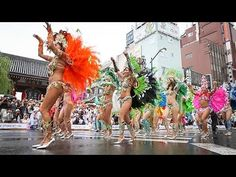 34th Asakusa Samba Carnival Movie 0:41 August 29, 2015 - YouTube