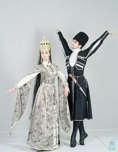 Circassian dance costume