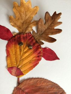 zip And grill Autumn Leaves Craft, Autumn Crafts, Fall Crafts For Kids, Autumn Art, Nature Crafts, Toddler Crafts, Preschool Crafts, Diy For Kids, Fun Crafts