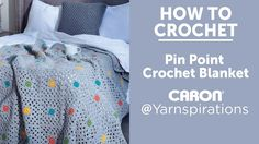 How to Crochet a Blanket : Pin Point Blanket