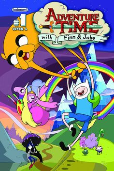 What tIme is it??  ADVENTURE TIME!!!  I love the art . I love the characters. I love the stories too!  the cartoon is amazing and this comic is so hot that it has been reprinted 3 times since February and is totally sold out. I got one at Emerald City Comic Con for 10$.