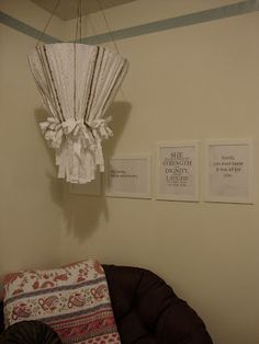 Fabric Chandelier, Diy Projects To Try, Wednesday, Teen, Diy Crafts, Lights, Crafty, Room, Hair
