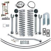 Rubicon Express 4 5 Inch Super Flex Short Arm Lift Kit With Rear