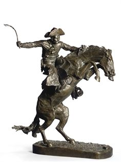 12 The Broncho Buster, Frederic Remington, Henry Bonnard Bronze Co.