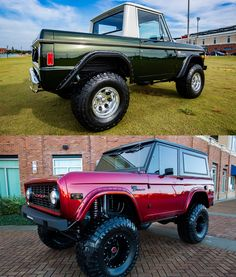 Specializing in classic Ford Broncos and vintage vehicle restorations. Velocity Restorations is a high end, classic auto restoration shop in Pensacola, FL. Ford Bronco Concept, Old Ford Bronco, Bronco Truck, Early Bronco, Classic Bronco, Classic Ford Broncos, Classic Chevy Trucks, Classic Cars, Cool Trucks