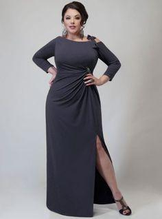 Chiffon Goddess Dress Plus Size Style Inspiration Apparel Clothing ...