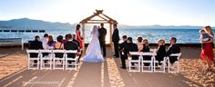 Toes in the Sand Wedding Venue Photo Gallery Page - Lake Tahoe Weddings - Weddings in Lake Tahoe