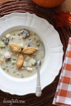Leftover turkey is delicious in turkey pot pie, so I thought why not use it to…