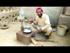 Outdoor Stove, Primitive Technology, Hand Work Blouse Design, Stove Fireplace, Clay Pots, Outdoor Cooking, Cement, Bouncy Curls, Wood