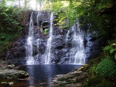 Day 12, Glenariff Waterfall of Nine Glens, County Antrim, Northern Ireland.