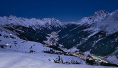 St Anton, Austria Snowboarding