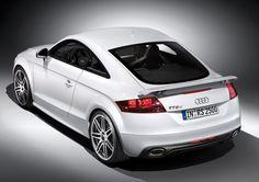 White Audi TT