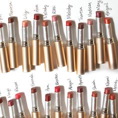 Happy #InternationalWomensDay! Jane names each shade of PureMoist Lipstick after a woman who has inspired her. Who is a woman that has inspired you?