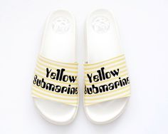 offsetcollage — CHANCLAS YELLOW SUBMARINE.