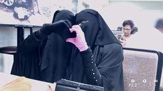 Me an my beautiful sister .! Alhamdulillaah ♡