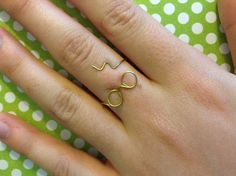 Electrifying Harry Potter Inspired Wire Ring | Hold on to your wands ladies and gents because this Harry Potter inspired wire ring is going to stupefy you with its stellar design!