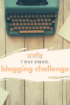 Need accountability? Try our 7 day blogging challenge to help push yourself to publish a new blog post in 7 days!