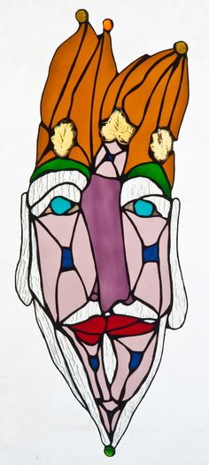 STAINED GLASS PORTRAITURE
