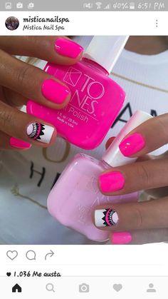 Trendy Nails, Cute Nails, Essie Gel Polish, Rainbow Nail Art, Cute Nail Designs, Nail Spa, Perfect Nails, Nail Arts, You Nailed It