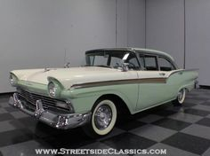 1957 Ford Fairlane 500 Sedan Green Other Automatic