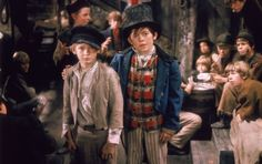 OLIVER - based on the novel, Oliver Twist by Charles Dickens, this musical won the academy award for best picture. Starring Ron Moody, Mark Lester, Jack Wild and Oliver Reed. My mom took me to see this when I was a little girl. Les Miserables, Carol Reed, Little Dorrit, Artful Dodger, Oscar Winners, Christmas Carol, Dodgers, Costume Design, Carnival
