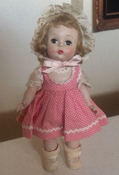 "Vintage 1953 Madame Alexander Wendy 7 1/2"" Excellent"