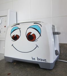 i wanna do this to my toaster!