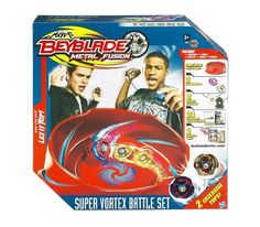 1. Beyblades Metal Fusion Super Vortex Stadium Battle Set