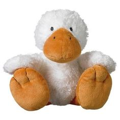Knuffel Eend Global Friends Duck Daisy - 24 cm - Happy Horse