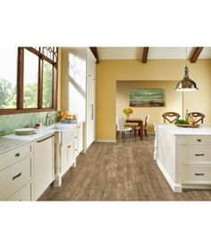 Armstrong LUXE With Rigid Core A6401 Lexington Slate - Sand And Sky