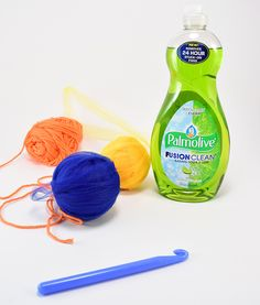 These crochet dish scrubbers have cotton for added fullness. These are the best little scrubbers you'll ever hook up!