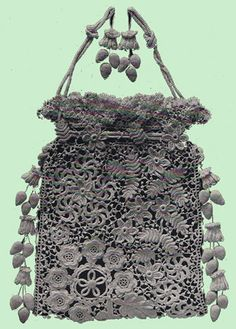 From Priscilla Irish Crochet Book N 1